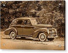 Classic - Car - 1939 Chrysler 4-dr Sedan Acrylic Print by Barry Jones