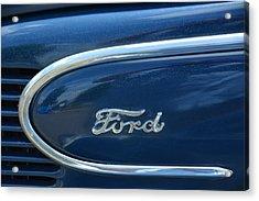 1939 Ford Emblem Acrylic Print