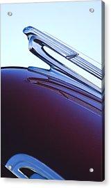 1940 Chevrolet Hood Ornament Acrylic Print by Jill Reger