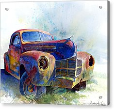 1940 Dodge Acrylic Print by Andrew King