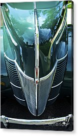 Acrylic Print featuring the photograph 1940 Ford Classic Deluxe Two Door Sedan V-8 by Jerry Cowart