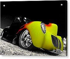 1940 Willys Pickup Acrylic Print by motography aka Phil Clark