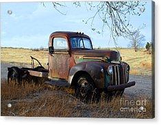 1940s Ford Farm Truck Acrylic Print