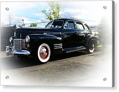 1941 Cadillac Coupe Acrylic Print by Paul Ward