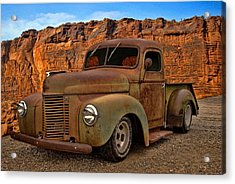1941 International Pickup Acrylic Print by Tim McCullough