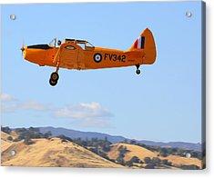 1943 Fairchild M62a-3 On Climb-out N69167 Acrylic Print by John King