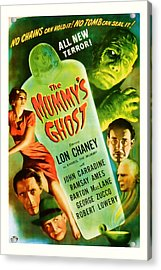 1944 The Mummys Ghost Vintage Movie Art Acrylic Print