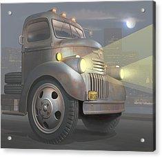 1946 Chevy Coe Acrylic Print