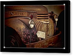 1946 Chevy Truck Acrylic Print by Ron Roberts