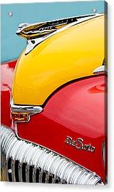 1946 Desoto Skyview Taxi Cab Hood Ornament Acrylic Print