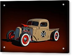 1946 Ford Hot Rod Pickup Acrylic Print by Tim McCullough