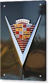 1947 Cadillac Emblem Acrylic Print