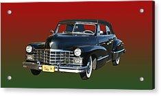 1947 Cadillac Sixty Two Convertible Acrylic Print by Jack Pumphrey