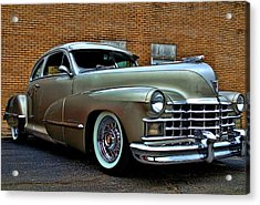 Acrylic Print featuring the photograph 1947 Cadillac Street Rod by Tim McCullough