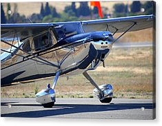 1947 Cessna 140 A Little Closer N4151n Acrylic Print