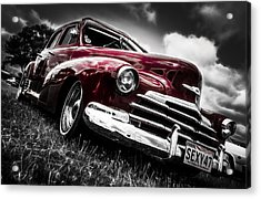 1947 Chevrolet Stylemaster Acrylic Print by motography aka Phil Clark