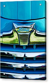 1947 Ford Deluxe Grille Ornament -0700c Acrylic Print