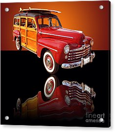 1947 Ford Woody Acrylic Print