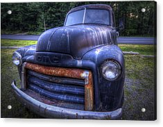 1947 Gmc Acrylic Print by Eric Gendron