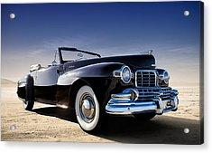 1947 Lincoln Continental Acrylic Print by Douglas Pittman
