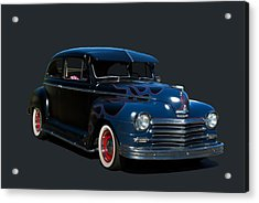 Acrylic Print featuring the photograph 1947 Plymouth by Tim McCullough