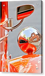 1948 Anglia Rear View Mirror -451c Acrylic Print