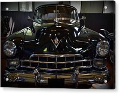 1948 Cadillac Front Acrylic Print by Michelle Calkins