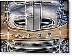 Acrylic Print featuring the digital art 1948 Ford Pickup by Richard Farrington