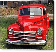 1948 Plymouth Coupe Acrylic Print