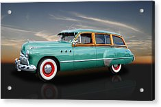 1949 Buick Super Woody Acrylic Print