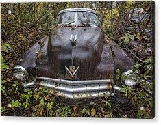1949 Cadillac Acrylic Print by Debra and Dave Vanderlaan