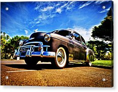 1949 Chevrolet Deluxe Acrylic Print by motography aka Phil Clark