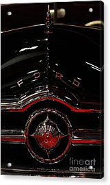 1949 Ford Custom Convertible Coupe - 5d20082 Acrylic Print by Wingsdomain Art and Photography