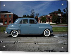 1949 Plymouth Acrylic Print