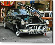 1950 Buick 2 Acrylic Print by Victor Montgomery