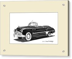 1950 Buick Special Convertible Acrylic Print