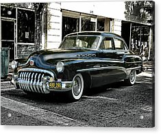1950 Buick Acrylic Print by Victor Montgomery