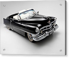 Acrylic Print featuring the photograph 1950 Cadillac Convertible by Gianfranco Weiss