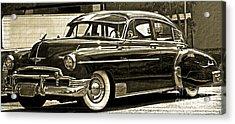 1950 Chevrolet Acrylic Print by Gwyn Newcombe