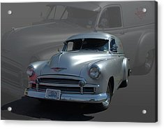 1950 Chevrolet Sedan Delivery Acrylic Print by Tim McCullough