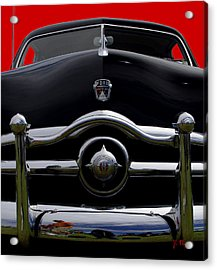 1950 Ford Automobile Acrylic Print by James C Thomas