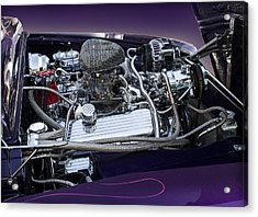 1950 Ford Mercury Engine Acrylic Print