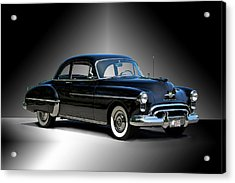 1950 Oldsmobile 88 Deluxe Club Coupe I Acrylic Print by Dave Koontz