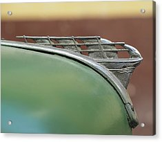 1950 Plymouth Hood Ornament - Image Art By Jo Ann Tomaselli Acrylic Print