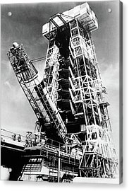1950s 1960s Air Force Atlas Missile Acrylic Print