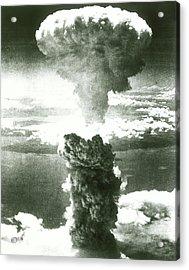 1950s Atomic Bomb Explosion Mushroom Acrylic Print