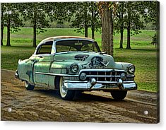 Acrylic Print featuring the photograph 1951 Cadillac by Tim McCullough