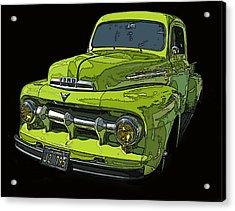 1951 Ford Pickup Truck Acrylic Print