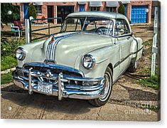 1951 Pontiac Chieftain Side View Acrylic Print