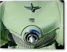 1951 Studebaker Commander Hood Ornament 2 Acrylic Print
